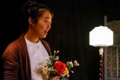Helen Kim as 'Mai Kang'.