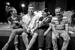 Helen Kim, Jacob McLean, Maria de Marco & Sam Cosentino (during a rehearsal) Walk Now ©