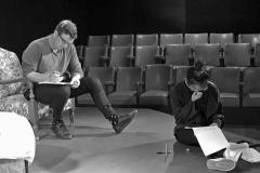 Jacob McLean & Helen Kim (diligently working through the My Carer script). Walk Now ©